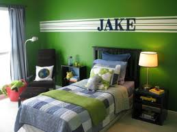 Blue And Green Boys Bedroom Ideas