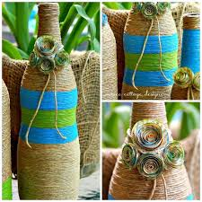How To Decorate Beer Bottles Twine Wrapped Bottles Craft Hometalk 28