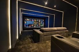 cinema room furniture. Contemporary Furniture Bespoke Cinema Room Design Installation On Living Theater Ideas  Throughout Furniture