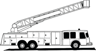 Printable Fire Truck Coloring Pages Fire Truck Printable Coloring