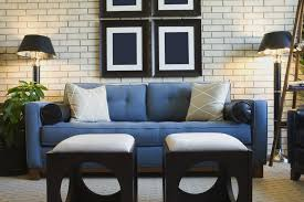 living room decor ideas most recommended design blue fabric sofa gray cushions chairs potted plants standing drawing room furniture ideas c96 room