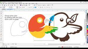Vectorizing image with Vector Magic