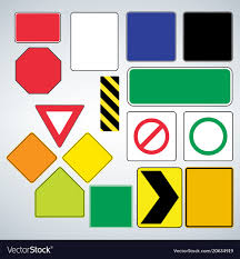 Templates For Signs Free Set Of Road Signs Templates Make Your Own Road