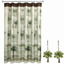 coastal living shower curtains fresh bacova guild citrus palm toothbrush holder home kitchen