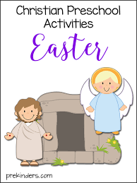 Christian Preschool Printables Easter Activities Prekinders