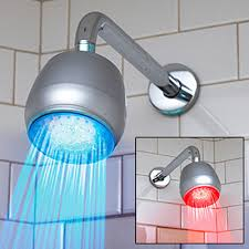 shower led lighting. Temperature Sensitive LED Shower Light Led Lighting