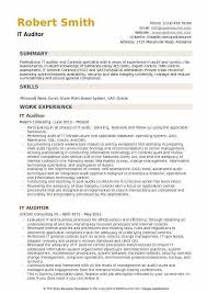 It Auditor Resume Samples Qwikresumegood Auditor Resume
