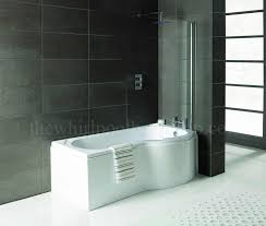 RH Oceania 12 Jet P Shape Whirlpool Shower Bath