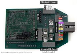 pre installed brook ps3 ps4 pcb kit ist preinstalled ps3 ps4 fight board kit wire configuration