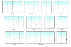 what is the standard size of a sliding glass door average sliding glass door size sliding