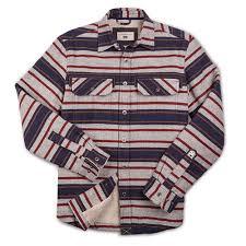 Dakota Grizzly Size Chart Dakota Grizzly Mens Mack Blanket Striped Flannel Shirt Jacket