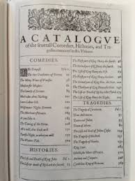 shakespeare the two gentlemen of verona catching days first folio table of contents