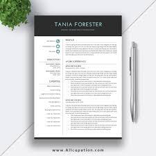 Award Winning Modern Resume Templates Free Download Resume Templates Word 002 Modern Template With Your Photo
