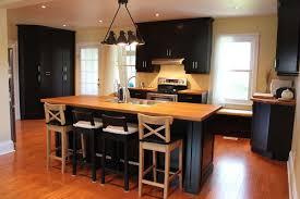kitchen wood furniture. Custom Kitchen With Butcher Block Cambridge Ontario Wood Furniture