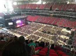 Georgia Dome Concert Seating Chart Taylor Swift Concert Photos At Mercedes Benz Stadium
