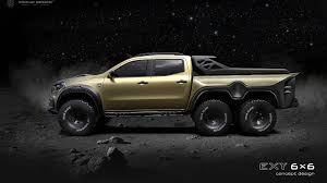 There are no translations available. Mercedes Benz X Class 6x6 Pickup Truck Incoming Autoevolution
