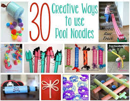 30 creative things to do with pool noodles