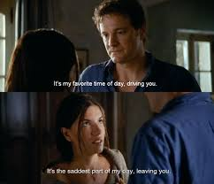 Love Actually Quotes Custom It's The Saddest Part Of My Day Leaving You Quote In Love Actually