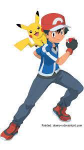 Pokemon XY - New Satoshi (Ash) by alamo-X on DeviantArt