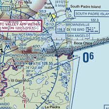 Brownsville Sectional Chart Bro Brownsville Brownsville South Padre Island Intl Tx