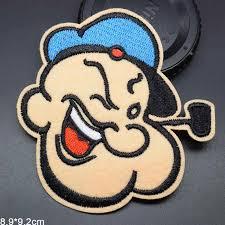 Hoạt Hình Sắt Trên Đáng Yêu Popeye Thủy Thủ Vải Thêu Miếng Dán Cho Bé Gái  Bé Trai 8*9Cm|embroidered cloth patches|cloth patchpatch for clothe -  AliExpress