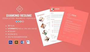 Modern Typographic Resume Set 65 Eye Catching Cv Templates For Ms Word Free To Download