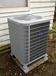 carrier air conditioning. carrier central air conditioner (outside unit) conditioning