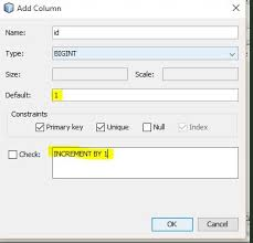 Increment Form Inspiration Java Jdbc Insert Into Database With Auto Increment Field Stack