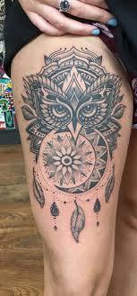 30 Trending Thigh Tattoo Ideas Mybodiart