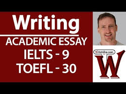 ielts toefl writing full essay high score