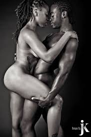 THE LIONS DEN NUDE NUBIAN EROTIC COUPLES black women hair style.