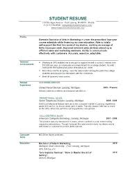 Resume Cover Letter For College Graduate Lezincdc Com