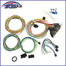 mopar wiring harness ebay mopar wiring harness for jeep cherokee 21 circuit wiring harness chevy mopar ford hotrods universal extra long wires