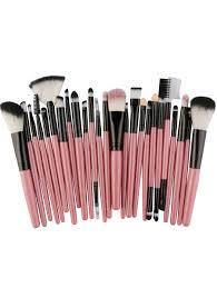 new 25pcs multifunctional high quality fiber makeup brushes set