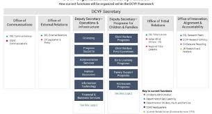 Dcyf Organizational Function Model Washington State