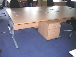 used rectangular desk picture of secondhand beech rectangular office furniture