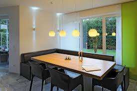 Gray Dining Room With Contemporary Track Lighting Track Lighting - Track lighting dining room