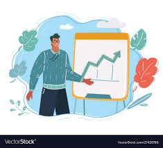 What Is Flip Chart Presentation Man With A Flip Chart Show Presentation