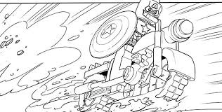 Avengers Coloring Pages Thor Infinity War Thanos Lego Avenger