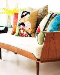 interior mid century modern home