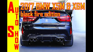 BMW Convertible bmw x5 m edition : 2017 BMW X5 M And X6 M Black Fire Special Edition | First Look ...