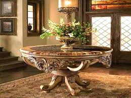 pedestal entry table round foyer tables contemporary boundless ideas pertaining to how
