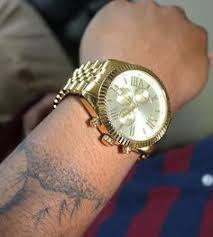 real diamond watch iced out mens solid steel yellow gold joe king jumbo big round face men s watch gold metal link band real stainless steel