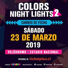 Color Night Lights Chile 2019 Blondie Regresa A Chile En El Marco Del Colors Night Lights