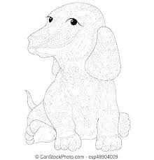 Dachshund Coloring Pages Designsloftco