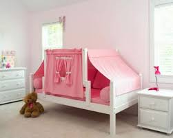Girls Twin Day Bed with Top Tent