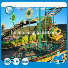 Real Factory Used Kiddie Ride Caterpillar Roller Backyard Roller Backyard Roller Coasters For Sale