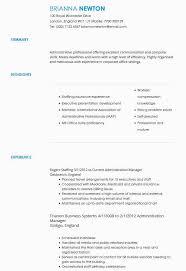 Cv Examples Administration Cv Samples Cv Templates By Industry Livecareer