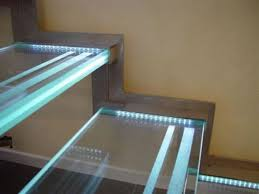 led stairwell lighting. led stairs lighting design glass staircase with led effects stairwell r