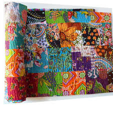 Best Kantha Blanket Products on Wanelo & ON SALE NOW Patchwork Kantha Quilt Blanket Bedspread Reversible Adamdwight.com